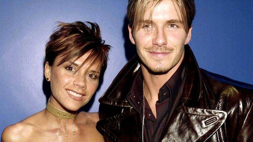 Victoria und David Beckham bei einer Benefizveranstaltung 2000