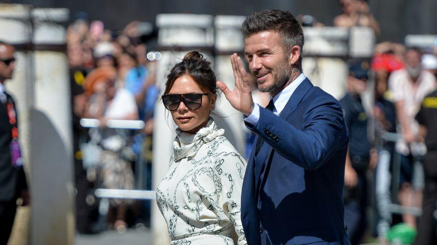 Victoria und David Beckham in Spanien