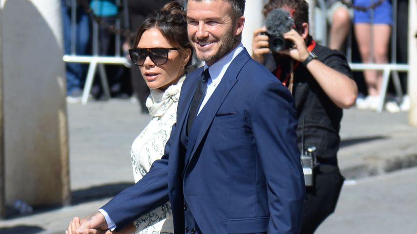 Victoria und David Beckham, Juni 2019