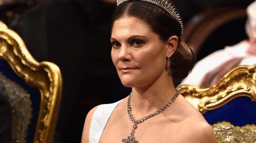Prinzessin Victorias Kolonne in Unfall verwickelt