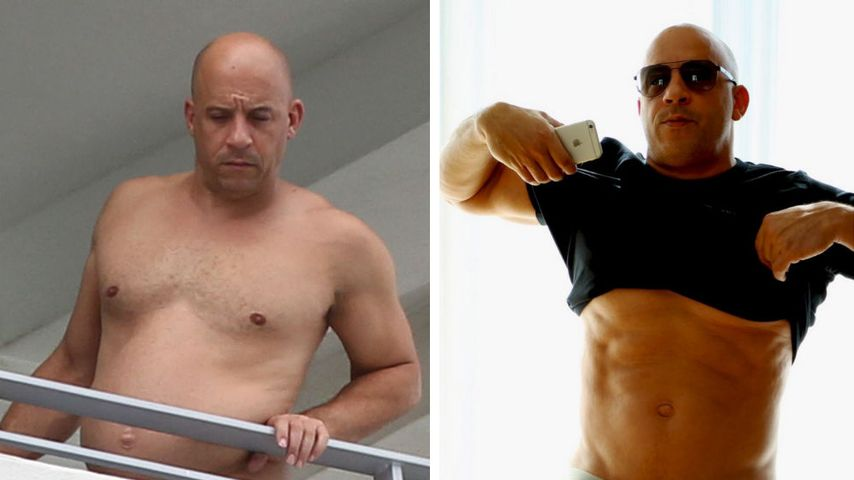 Bierbauch ade! Vin Diesel ist wieder durchtrainiert