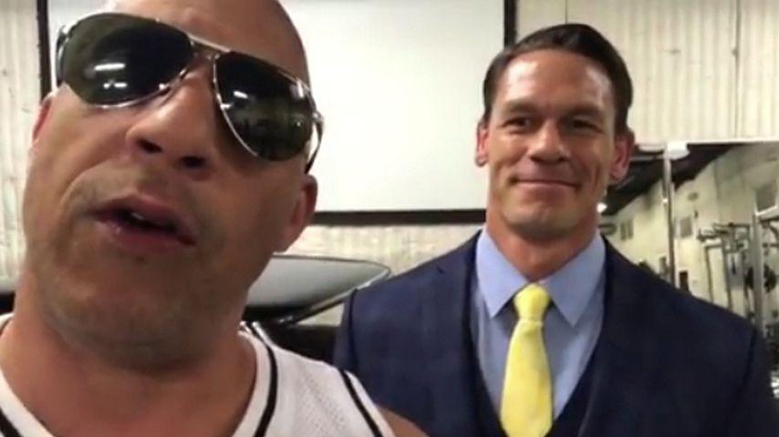 Vin Diesel und John Cena