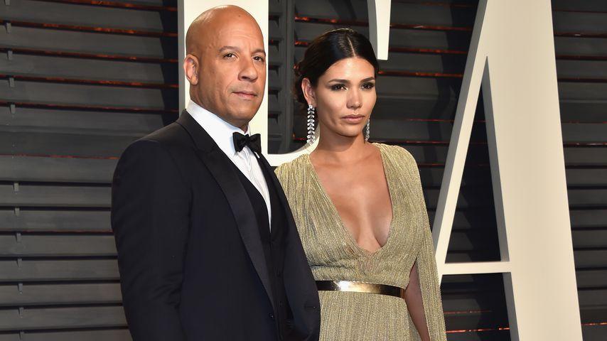 Vin Diesel und Paloma Jimenez bei der Vanity Fair Oscar Party 2017