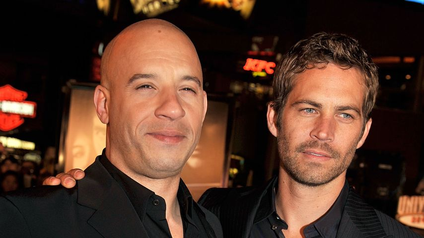 Bewegend: Vin Diesel & Co. gedenken Paul Walker