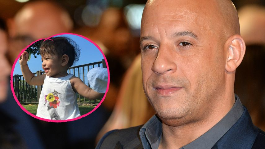 Nach langer Drehphase: Vin Diesel wieder bei Baby Pauline!