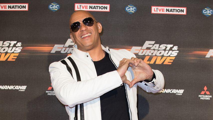 """Vin Diesel bei der """"Fast & Furious""""-Premiere im Januar 2018"""