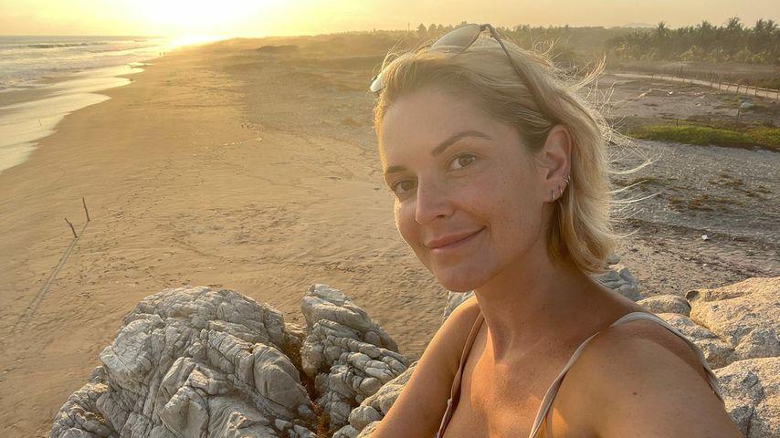 Viola Kraus an einem Strand in Mexiko