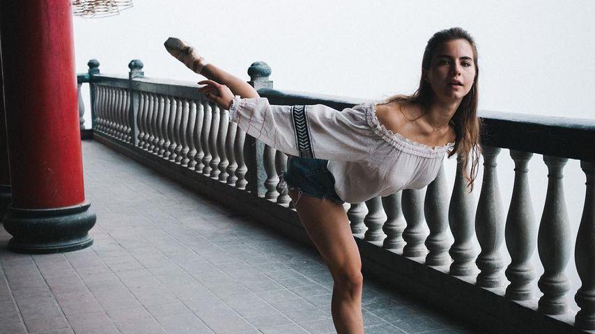 Violetta Komyshan, Freundin von Ansel Elgort