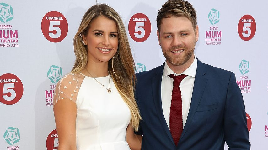Vogue Williams und Brian McFadden, März 2014