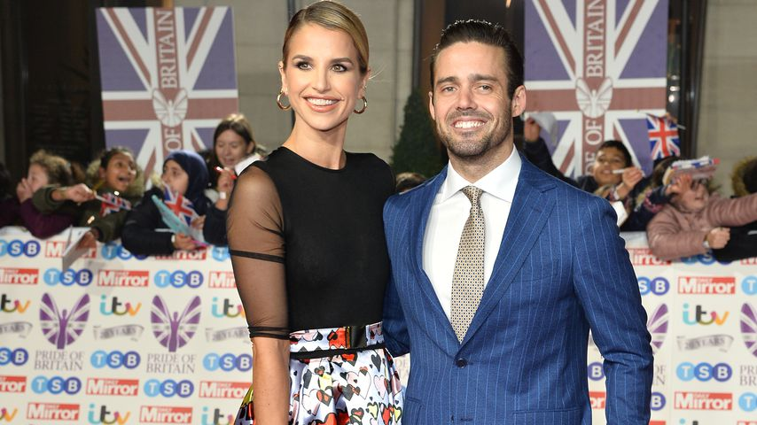 Vogue Williams und Spencer Matthews im Oktober 2019