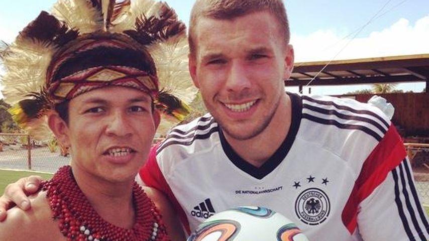Oh nein! Podolski fehlt im Match gegen Algerien
