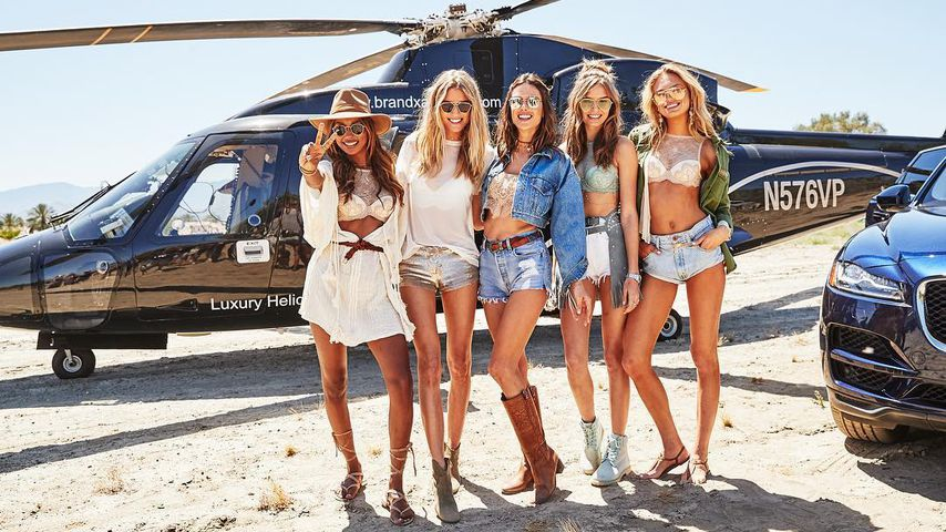 Sexy Coachella: Diese VS-Engel heizen dem US-Festival ein!