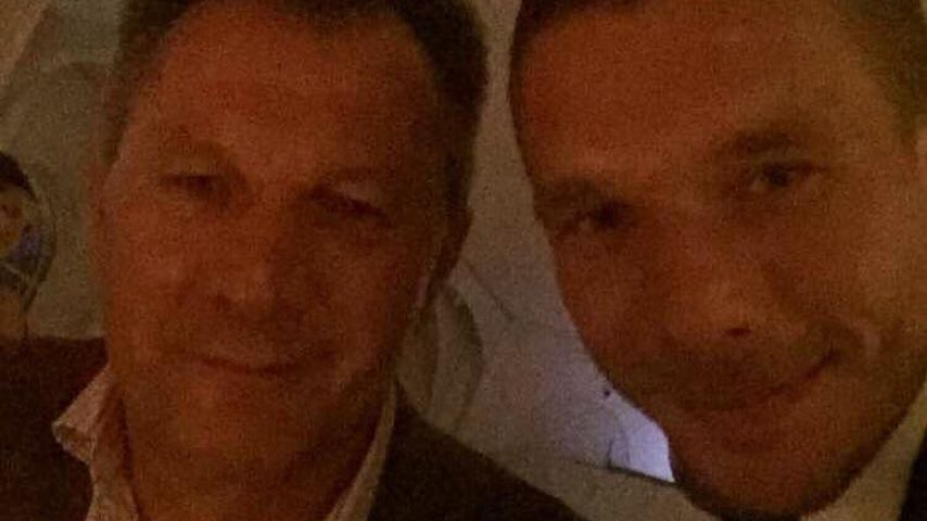 Tolles Team: Lukas Podolski herzt Papa Waldemar zum Vatertag
