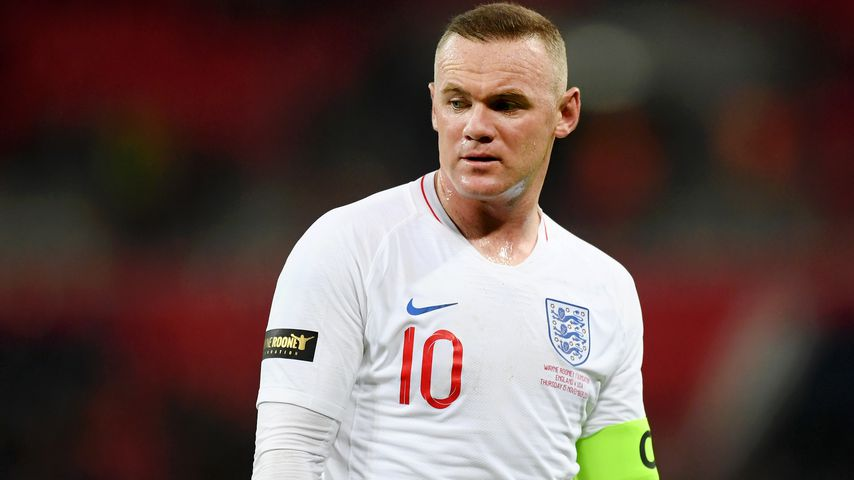 Wayne Rooney bei einem Fußballspiel im November 2018