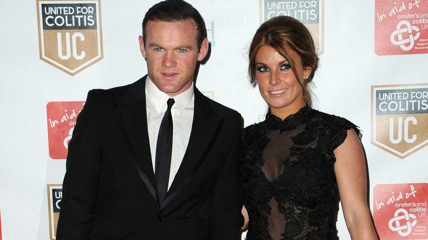 Wayne und Coleen Rooney bei einem Charity-Event von Crohn's & Colitis