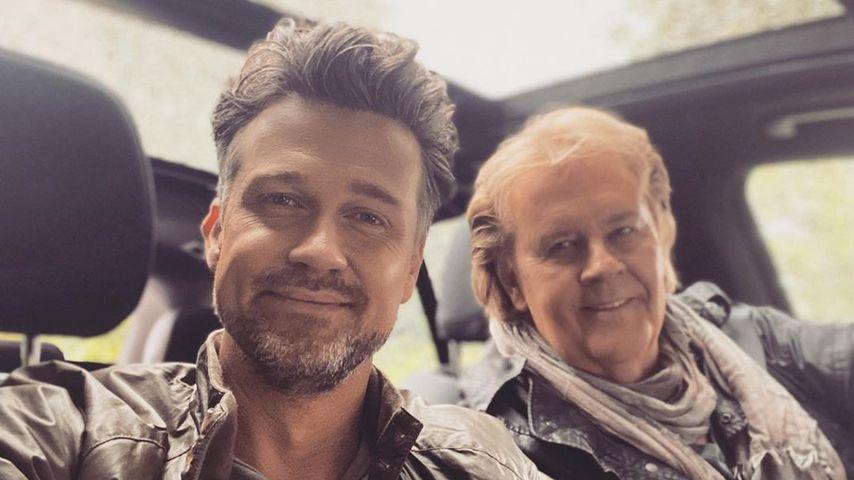 Wayne und Howard Carpendale im Juni 2020
