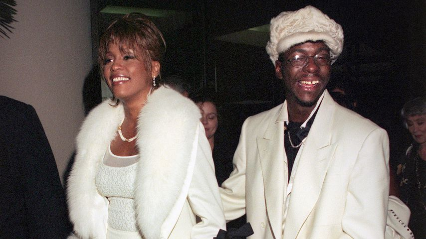 Whitey Houston, Bobby Brown und Bobbi Kristina 1998