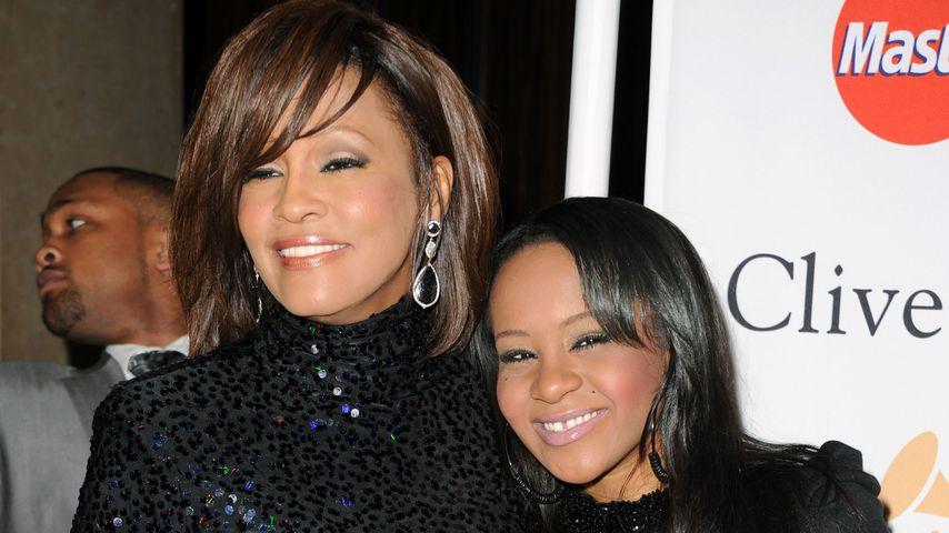Whitney Houston und Bobbi Kristina Brown im Jahr 2011
