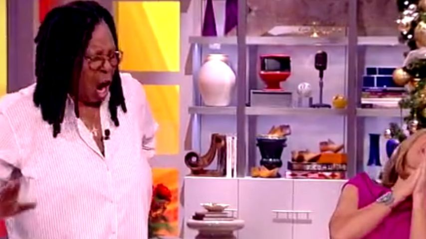 Pups-Alarm: Whoopi Goldberg furzt wieder On Air!