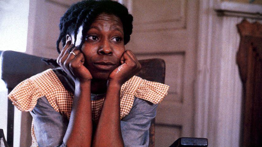 """Whoopi Goldberg in ihrer Rolle als Celie in """"Die Farbe Lila"""" aus dem Jahr 1986"""