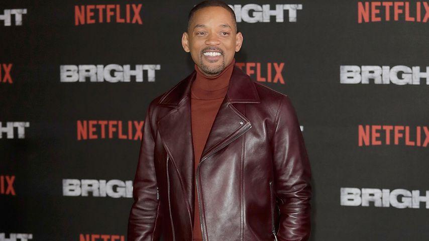 """Will Smith bei der Premiere von """"Bright"""" in London"""