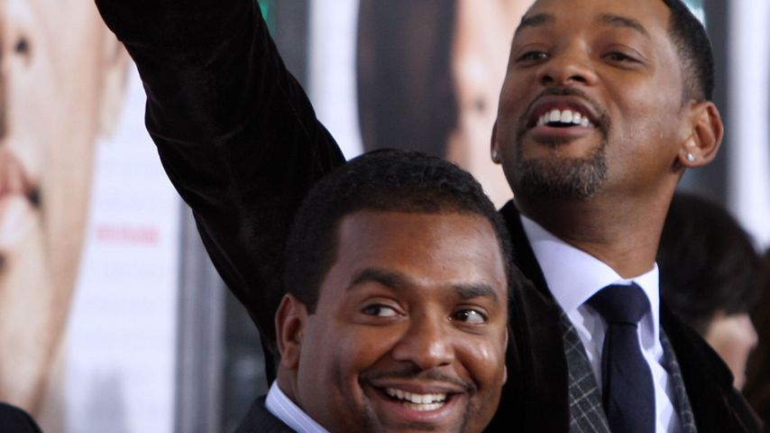 "Will Smith und Alfonso Ribeiro bei der Filmpremiere von ""Seven Pounds"" in Westwood/Kalifornien"