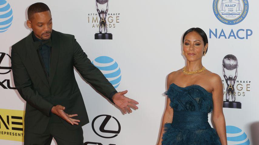 Will Smith und seine Frau Jada im Februar 2016