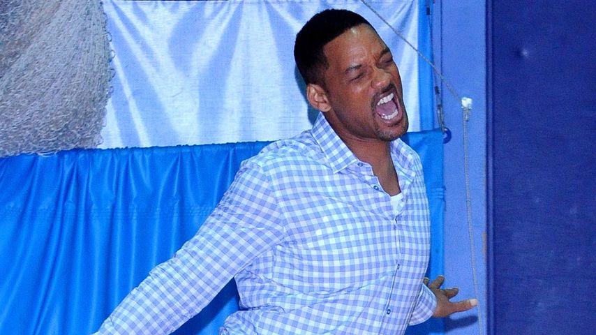Will Smith: Peinlicher Auftritt beim Fußball