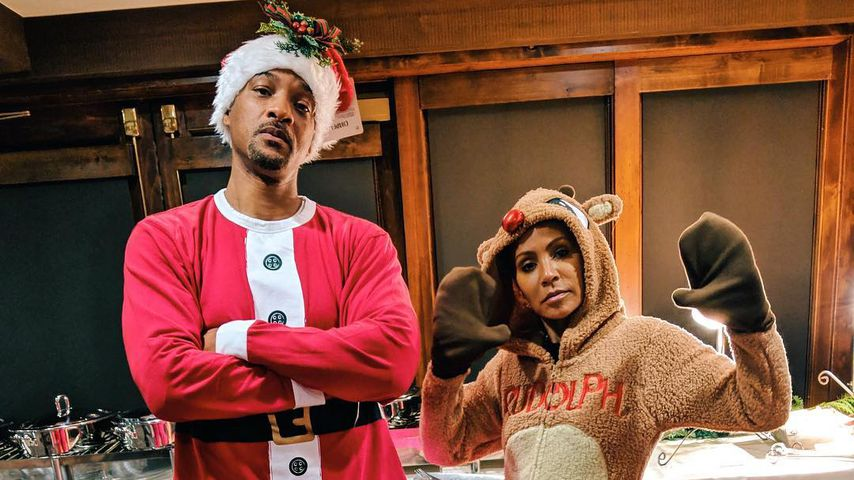 Will Smith und Jada Pinkett-Smith an Weihnachten 2018