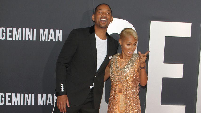 """Will Smith und Jada Pinkett-Smith bei der """"Gemini Man""""-Premiere"""