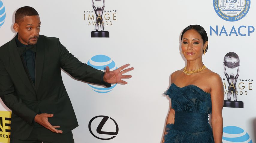Will Smith und Jada Pinkett-Smith bei den 47. NAACP Image Awards 2016