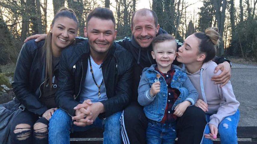Willi Herren mit seiner Familie