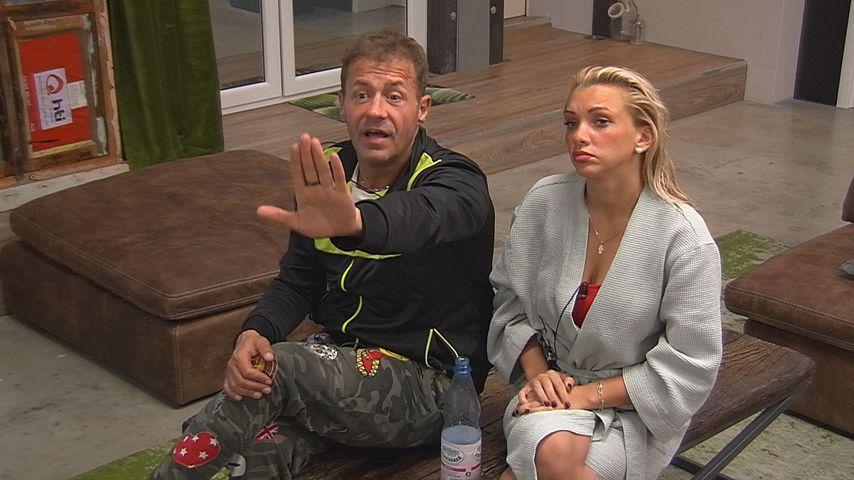 """Willi Herren und Evelyn Burdecki bei """"Promi Big Brother"""""""