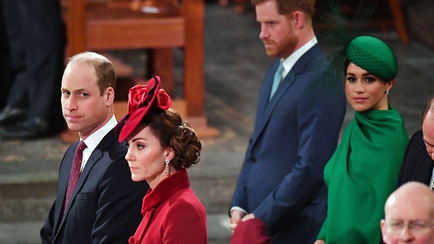 Was flüsterte Prinz William am Commonwealth Day Kate zu?