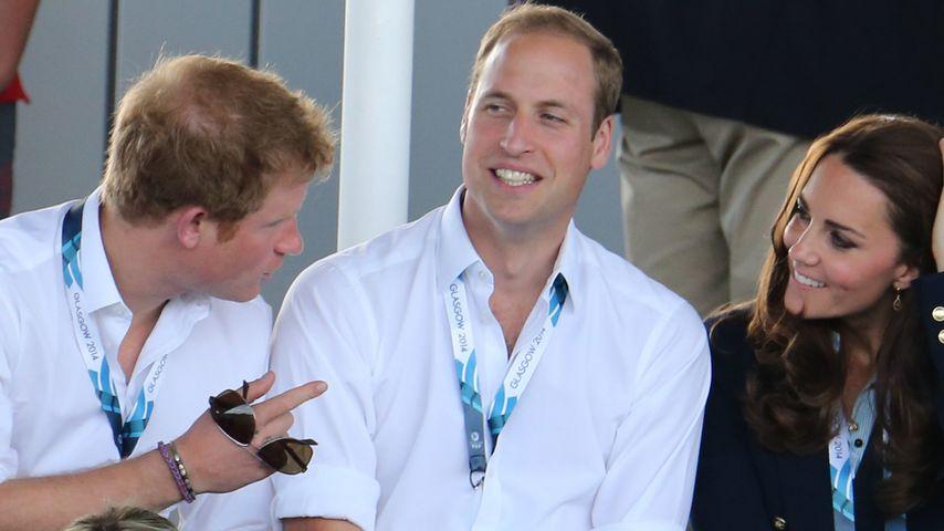 Der Prinz von nebenan: William ganz leger in Jeans