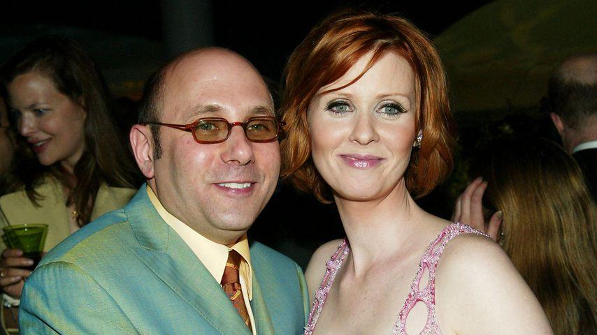 Willie Garson und Cynthia Nixon 2003