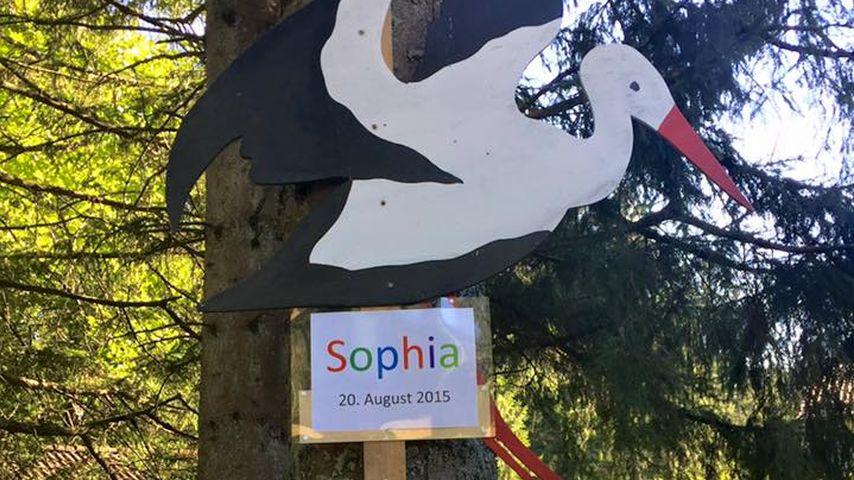 Willkommen Sophia! Daniela Katzenberger ist daheim