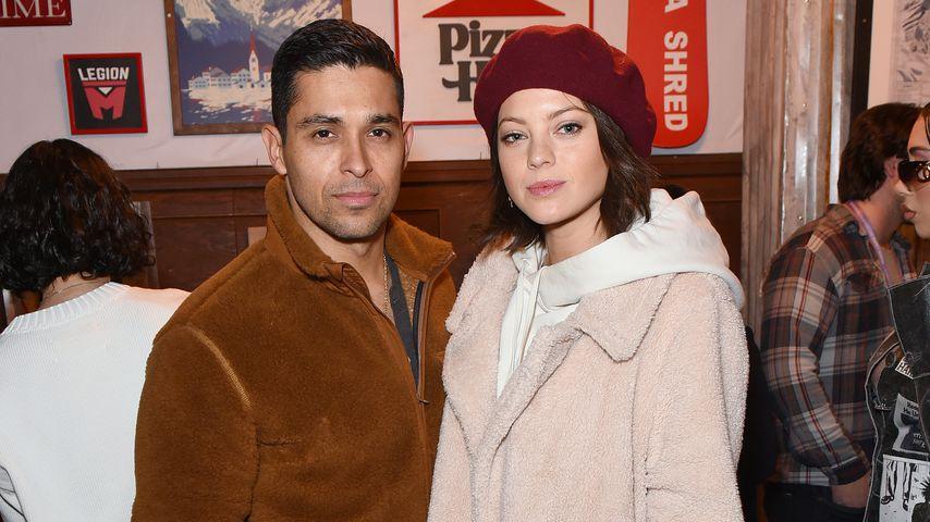 Wilmer Valderrama und Amanda Pacheco im Januar 2020