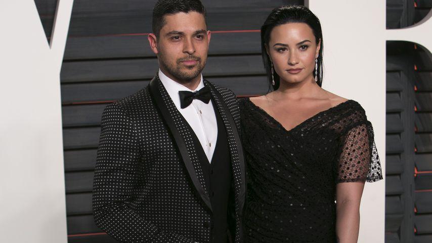 Süß: Hier bringt Wilmer Demi Lovato zum Lachen