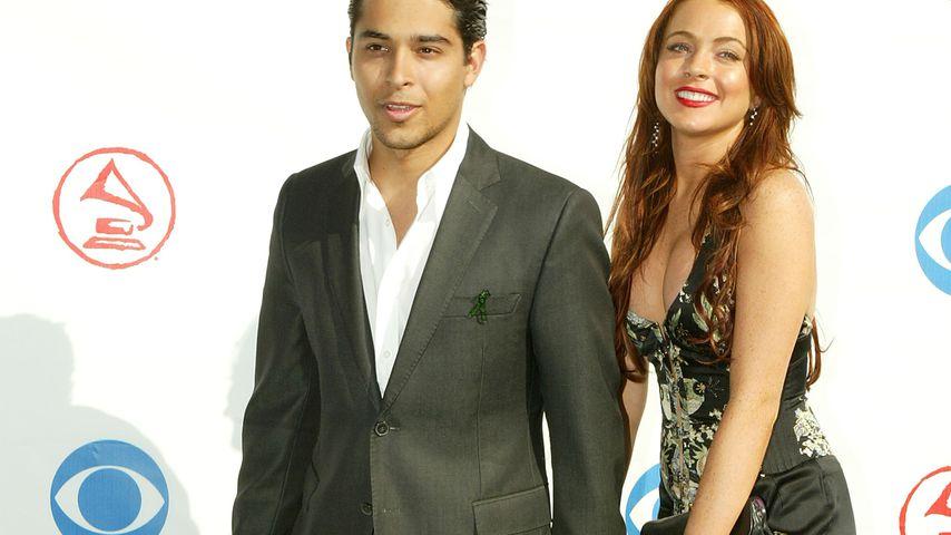 Wilmer Valderrama und Lindsay Lohan, 2004
