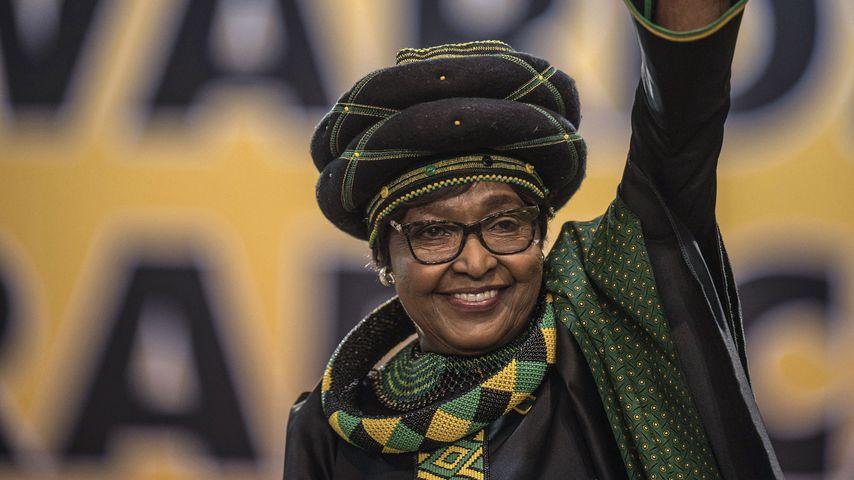 Winnie Madikizela-Mandela bei der 54. National Conference in Johannesburg, 2017
