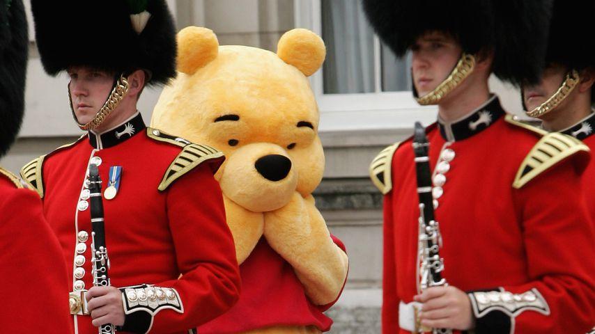 Winnie Pooh beim 80. Geburtstag der Queen