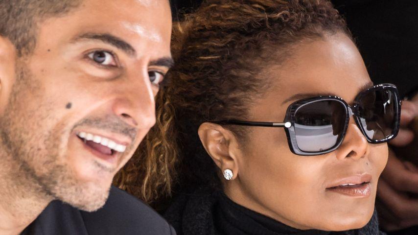 Wissam Al Mana und Janet Jackson bei der Hermes-Show im Oktober 2015 in Paris