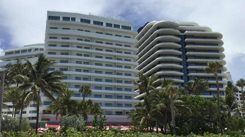 Wohngebäude in Miami Beach mit der neuen Wohnung von Kim Kardashian und Kanye West