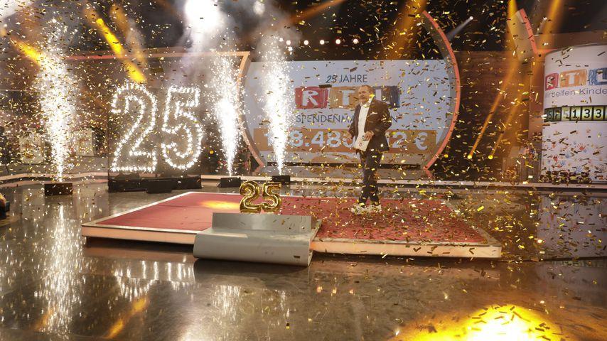 Wolfram Kons für den 25. RTL-Spendenmarathon