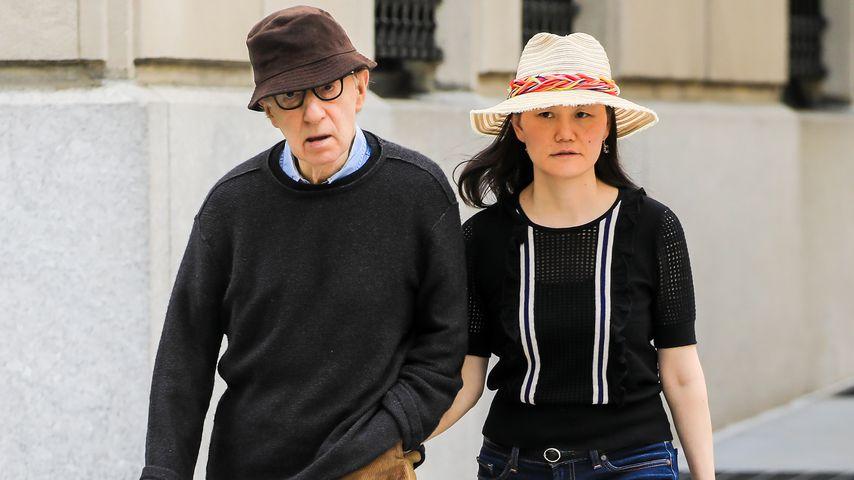 Regisseur Woody Allen und seine Ehefrau Soon-Yi Previn, Mai 2019