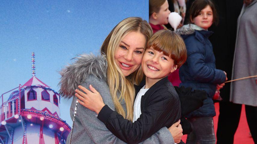 Xenia Seeberg und Sohn Philip (12): Süßestes Interview ever?