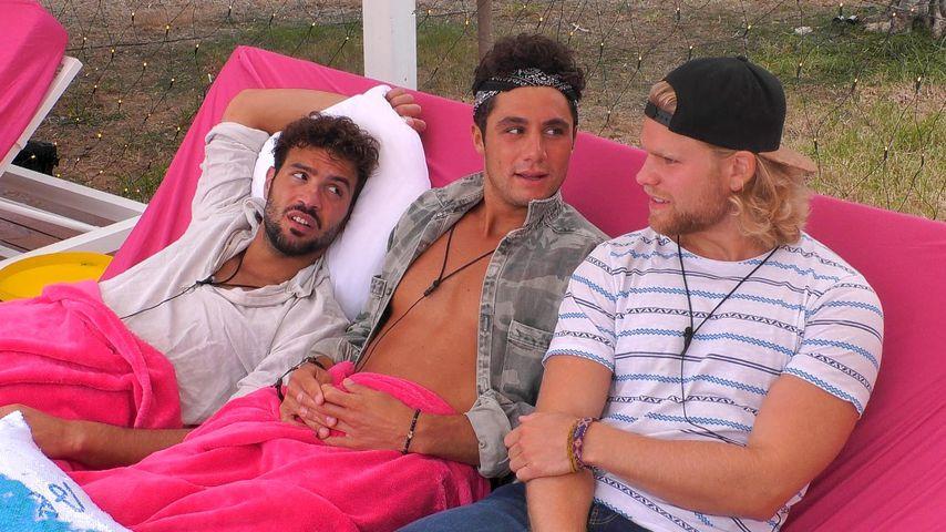 "Yasin, Danilo und Erik bei ""Love Island"""