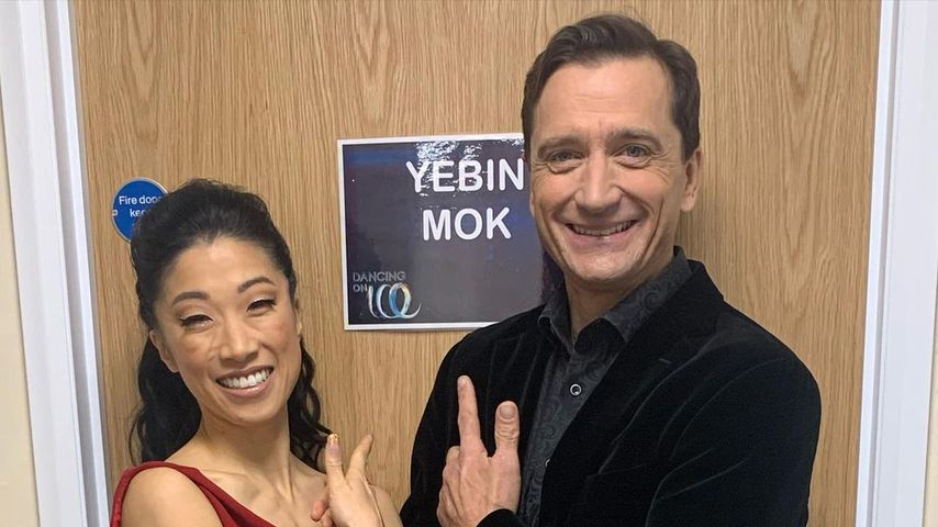 """Yebin Mok und Graham Bell, UK-""""Dancing on Ice""""-Paar"""