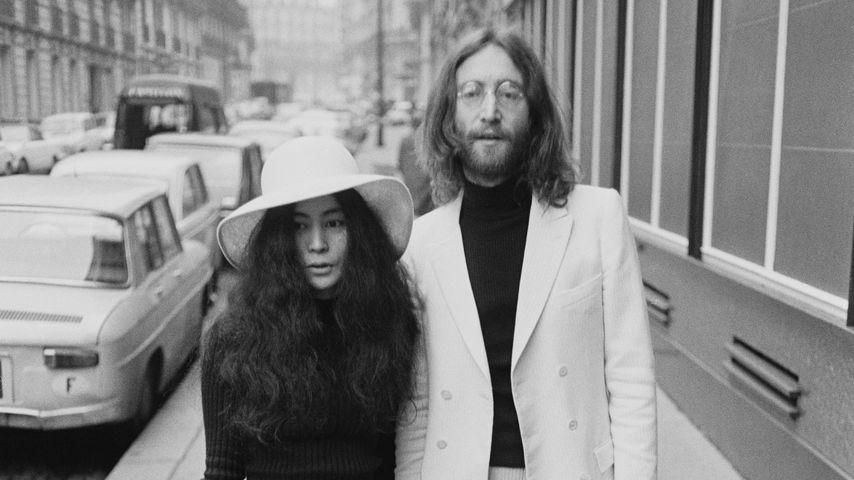 Yoko Ono und John Lennon im März 1969